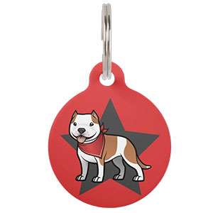 NEW cartoonized pet tags